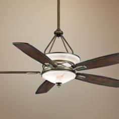 "68"" Casablanca Atria Aged Bronze Outdoor Ceiling Fan"