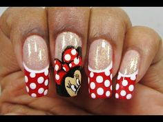 Nail Art Minnie - Guardalo
