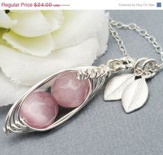 ON SALE 2 3 or 4 Sweet Peas In A Pod All by Kikiburrabeads on Etsy, $21.12