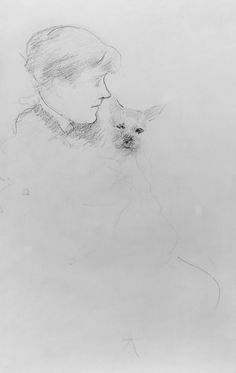 Mary Cassatt (American, 1844–1926). Woman with Dog, ca. 1880. The Metropolitan Museum of Art, New York. Bequest of Mary Cushing Fosburgh, 1978 (1979.135.3)