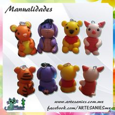 Artesanies#clay #babys #winniepooh #friends #polymer #manualidades www.artesanies.com.mx