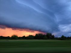 A cool picture of storm clouds coming into my town in SC