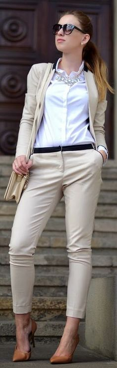 Look Of The Day: Nude Suit