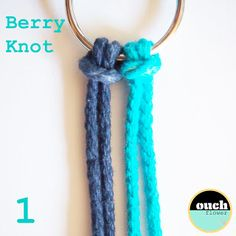 ouch flower: KNOT SCHOOL....Knot #4