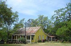 Cherokee - abandoned store, bank, church, etc.
