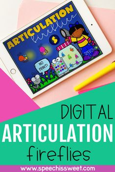 Digital Articulation Fireflies Games {A Growing Speech Therapy Bundle} Articulation Therapy, Articulation Activities, Speech Therapy Activities, Speech Language Therapy, Speech And Language, Speech Pathology, Phonics Flashcards, Infant Lesson Plans, Special Needs Students