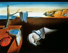 Relógio derretendo? Surrealismo