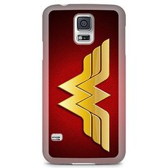 [Ashley Cases] TPU Clear Skin Cover Case for Samsung Galaxy Note 3  Wonder Woman Red Hole H