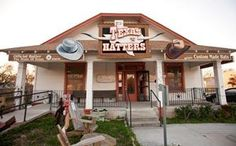 Texas Hatters Co. in Lockhart, TX. Many famous hats have come out of this establishment. Hats have been made for people like Burt Reynolds, Robert Duvall (hat that he wore in Lonesome dove) & Hank Williams, Jr.   (just to name a few)