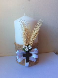 Discover recipes, home ideas, style inspiration and other ideas to try. Boys First Communion, First Communion Favors, First Communion Decorations, Diy Party Decorations, Baptism Party, Baptism Favors, Mother's Day Gift Baskets, Baptism Candle, Christmas Favors