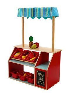Playful Market Store for Kids.