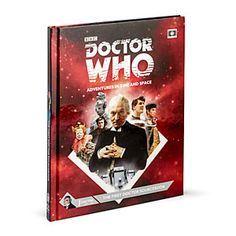 This roleplaying game set in the universe of Doctor Who is a must for any fans of RPGs or Doctor Who. The First Doctor!