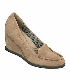 Naturalizer Paisley Loafer Wedges #Dillards
