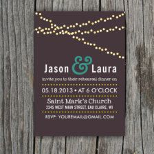 Invitations for Weddings, Bridal Showers, Engagement Parties