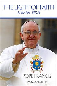 Pope Francis's first encyclical, Lumen Fidei (Light of Faith) builds on the work of his predecessor, Pope Emeritus Benedict XVI, completing a trilogy of encyclicals on the theological virtues-faith, hope, and love.