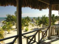 A resort on Ambergris Caye Belize - a quiet getaway with casita's on the beach.