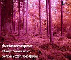 A volte basterebbe aggiungere solo un po' di rosa al mondo, per vedere le cose in modo differente. http://lallinx.com