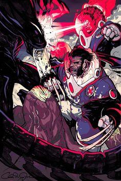 Pin By Daniel Herrera On Alien Vs Predators X Men Alien Vs Comics