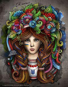Ukrainian Girl on Behance #balabolka