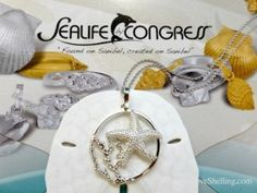 sea life by congress starfish necklace