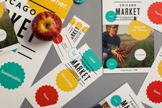 Chicago Market Brand Collateral