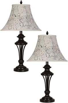 These new lamps are great! What room would you put them in? #WalkersFurniture