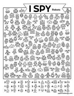 Creative Activities For Kids, Activities For Adults, Printable Activities For Kids, Free Printables, Teaching Kids, Kids Learning, Kindergarten Handwriting, Sudoku, I Spy Games