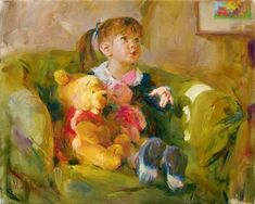 Winnie The Pooh art Michael and Inessa Garmash Limited Edition Giclee on Canvas Telling Stories Disney Fine Art, Disney Kunst, Cool Posters, Beautiful Paintings, Oeuvre D'art, Artist At Work, Art For Kids, Original Paintings, Romantic