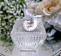 Bomboniere Glass Sugar Bowl,bomboniere,wedding bomboniere,wedding favours