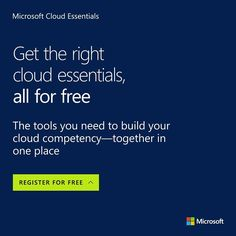 Gain access to the tools you need to build cloud competency. Try out Cloud Essentials for free: https://www.microsoft.com/itprocloudessentials/en-US?wt.mc_id=ce_os_1706_3 #bitLife