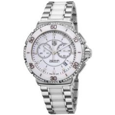 Tag Heuer Formula 1 CAH1213. BA0863 41mm Diamonds Multicolor Steel Bracelet & Case Synthetic Sapphire Women's Watch