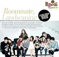 SBS Roommate | Exclusive and unreleased photos of Seongbuk-dong house and the cast of Season 1! Enjoy!♥