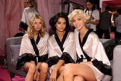 2014-VS-Show-Backstage-Stella, Shanina and Devon