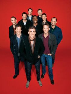 STRAIGHT NO CHASER :) I just saw them in concert at Mohegan Sun on Friday .... I'm in love!!!!!!!!
