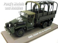 GMC CCKW 353 6x6 2.5 Ton Army Cargo Truck 1/43 Scale Diecast Metal Model by Atlas