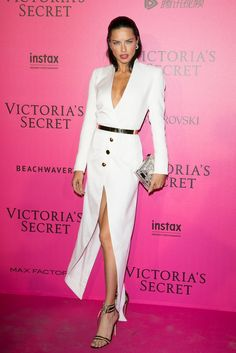 It's Not Adriana Lima's Sexiest Dresses That'll Catch Your Eye —It's the Way She Poses in Them