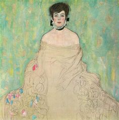 Amalie Zuckerkandl, 1917-1918 Gustav Klimt - by style - Art Nouveau (Modern) - WikiArt.org