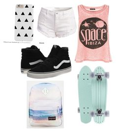 """Everyday outfit"" by lunareclipes50 on Polyvore featuring New Look, Vans and JanSport"