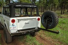 International Harvester developed the Scout after taking notice of the Jeep CJ's popularity among farmers, ranchers, and others who spent a fair amount of time Aev Jeep, Jeep Cj, International Scout Ii, International Harvester Truck, Jeep Scout, Scout Truck, Scout 800, Cool Trucks, Pickup Trucks