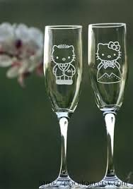 Hello Kitty and Dear Daniel champagne glass set :o).i will have this at my wedding. Hello Kitty Items, Sanrio Hello Kitty, Hello Kitty Wedding, Hello Kitty Imagenes, Hello Kitty Collection, Dream Wedding, Muriel's Wedding, Wedding 2017, Cute Cats