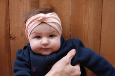 Life with Our Littles blog features a super simple DIY baby turban! The entire tutorial takes less than 5 minutes.
