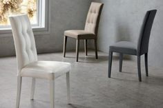 Sedia Four Seasons 123 sedie ecopelle / pelle - sedute | Una SEDIA ...