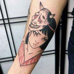 tattoos in japanese prints Anime Tattoos, Body Art Tattoos, Sleeve Tattoos, Piercing Tattoo, Petit Tattoo, Halloween Tattoo, Sick Tattoo, Aesthetic Tattoo, Future Tattoos