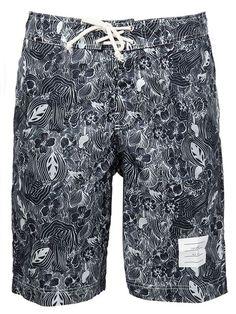 Thom Browne floral print swim shorts
