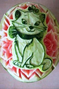 cute watermelon art