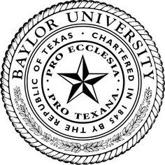 Baylor University Bears seal