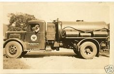 Image detail for -VINTAGE 20's TEXACO oil/gas DELIVERY TRUCK b/w 8 x 10 for sale