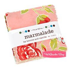 I love Marmalade Cotton Charm Pack Bonnie & Camille for Moda Fabrics.  I have some from this collection to use in my dream quilt.