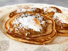 Domácí kynuté lívance s pohankovou moukou Pancakes, Breakfast, Ethnic Recipes, Food, Morning Coffee, Essen, Pancake, Meals, Yemek