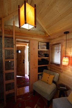 Interior of the Gifford by Tumbleweed Tiny House Company